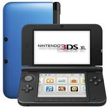 Nintendo 3DS XL negro y azul