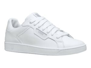 K Swiss Women Shoes Sneakers Lifestyle Casual White Clean Court Kicks 96347-141
