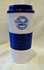 PRATT & WHITNEY Travel Mug  Tumbler  F-135 Logo  BPA Free  BRAND NEW Blue Color