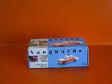Vanguards Die-Cast Replica - VA55000 - 1:43 - Police Ford Consul 3000 GT