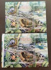 [SJ] Wonders Of Malaysia Forests 2013 Spider Pheasant Civet (ms pair MNH *uncut