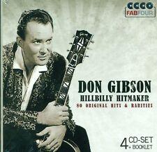 DON GIBSON - HILLBILLY HITMAKER 4 CD NEUF ET DANS L'EMBALLAGE D'ORIGINE (E1558)