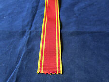 Fire brigade Long service   medal - Ribbon 6 inches (150mm) long