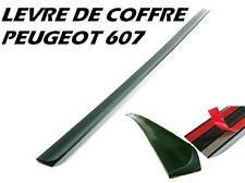 LEVRE LAME COFFRE PEUGEOT 607 2005-2011 HDI 16V V6 SPOILER BECQUET AILERON MALLE