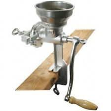 Short Cast Iron Mill grinder hand crank manual grains oats corn wheat coffee nut