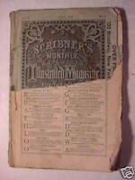 SCRIBNERs Magazine July 1872 BENSON J. LOSSING SAXE HOLM