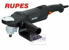 Rupes LH18ENS Professional Rotary Polisher 230v UK Incl 125mm Plate & FREE Pads