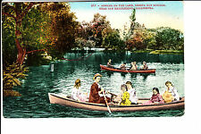 Urbita Hot Springs, CA  People In Rowboats @ 1910
