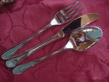 WMF Mittenwald Cromargan Table Cutlery One Person 3 Piece