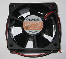 Sunon 60 mm Quiet Fan - 5 V - 16 CFM - 3300 RPM - KDE0506 - 4 to 6 VDC - 1.2 W