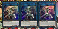 3x Cyberse-Verzauberer DUPO-DE014 ULTRA RARE DEUTSCH 1.AUFLAGE PLAYSET Yu-Gi-Oh