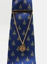 Blue Lodge Square & Compasses Freemason Masonic Tie Clip