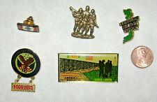 5 Vietnam Veteran Pins
