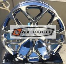 24 GMC Yukon Denali Style Wheels Chrome Rims Sierra Tahoe Suburban LTZ Silverado