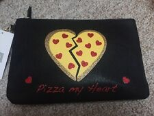 $25 Betsey Johnson Pizza My Heart Wristlet BUP77