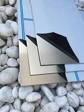 Alu 2mm Blech 300x500x 2mm AlMG3 Alu Alublech Zuschnitt mit Folie