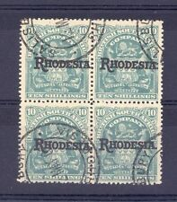 Pre-Decimal British Colonies & Territories Stamp Blocks