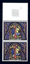 FRANCE - FRANCIA - 1966 - Vitrail de la Sainte-Chapelle Baptême de Judas MNH (F)