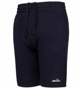 Ellesse Sport Morena Fleece Jogger Shorts for Men Navy Casual Sport Brand New