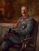 PAINTING PORTRAIT KAISER WILHELM II GERMAN EMPEROR FINE ART PRINT POSTER CC1337