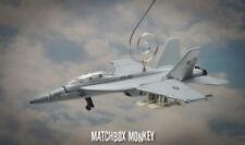 USN F/A 18E Super Hornet Fighter Jet Custom Christmas Ornament 1/100 Aircraft