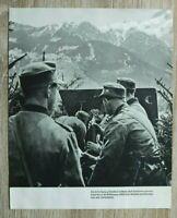AB) Blatt 2.WK Gebirgsjäger Edelweiss 1941 Gebirgs-Division Artillerie Geschütz
