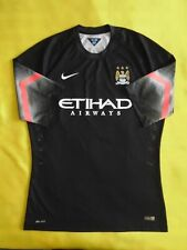 5/5 Manchester city authrntic jersey XLarge GOALKEEPER PLAYER ISSUE FOOTBALL