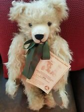 """2000 Hermann Millennium Bear Limited Edition  Made In Germany Mohair 20"""""""