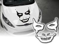Autoaufkleber Horror Joker Auto Sticker Aufkleber Motorhaube 58cm