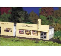 BACHMANN HO SCALE 1/87 PLASTICVILLE SUPERMARKET MODEL KIT| BN | 45141