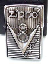 Original ZIPPO Feuerzeug V8 Big Block Emblem Motorblock 2.003.248 Neu & OVP