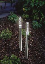 4x LED Solarleuchte Solarstäbe Solar Gartenleuchte Akku Gartenlampe Solarlampe