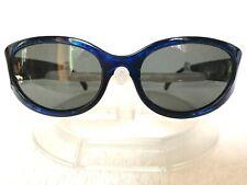 Vintage ARNET HOODOO Blue Pearl with Gray/Blue Lenses Beautiful & Minty Fresh!