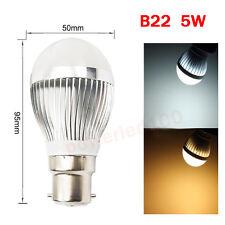 LED CREE B22 E27 5W 7W 10W 15W 240V Bayonet Edison Bulb Lamp Globe Light Lightin