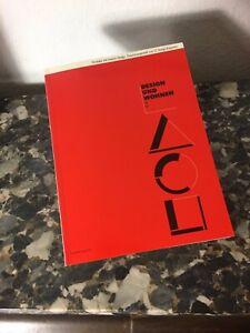 Design und Wohnen 2 Buch Gropius Driade Alessi Maurer Hansen Zeidler Jensen Flos