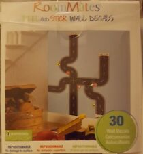 Roommates Peel and Stick Wall Decals 30 Decals - Road Design - Repositionable