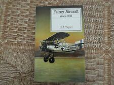 Putnam, Fairey Aircraft Since 1915