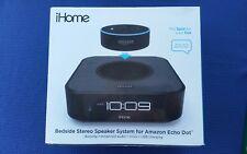iHome iAVS1 Bedside Stereo Speaker System for Amazon Echo Dot