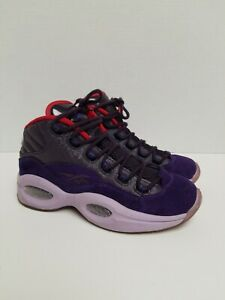 Reebok Question MID Iverson Question Ghost of Christmas Past Future Sz 5.5