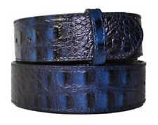 Cinture da uomo blu in pelle Taglia 95 cm