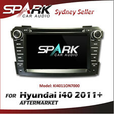 "7"" GPS SAT NAV NAVIGATION DVD IPOD BLUETOOTH RADIO FOR HYUNDAI i40 2011+"
