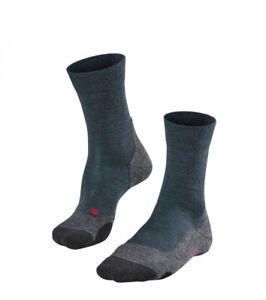 Falke TK2 MELANGE Herren Trekking Socken, Scarab