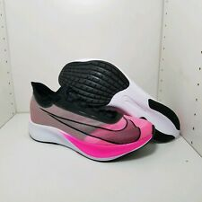 Men's Nike Zoom Fly 3 Mens Running Shoes Pink Blast Black AT8240-600 Size 11