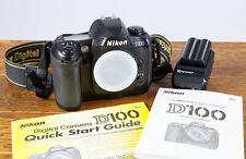 Nikon D100 6.1MP DSLR Digital Camera Body Only  Tested/Guaranteed