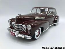 Cadillac Fleetwood Series 60 Special Sedan 1941 rouge foncé 1:18 MCG >> NEW <<