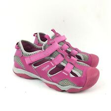 Youth Girls Teva Jansen Pink Water Sports Sandals Shoes Size 4 EUC