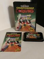 Sega Genesis Championship Bowling 1993 - Complete with Box and Manual