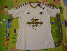 NWT Adidas 2015/2016 Swansea City White Home Jersey (Men Size Medium)