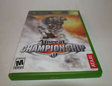 Unreal Championship (Xbox, 2002) Complete CIB Mint w/ Registration Card