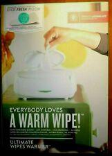 Ultimate Wipes Warmer & 1 Ever-Fresh Pillow w/ Night Light Prince Lionheart Nib